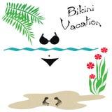 Bikini vacation Stock Image