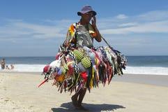Bikini Vendor Ipanema Beach Rio de Janeiro Brazil Royalty Free Stock Image