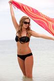 Bikini woman Royalty Free Stock Photo
