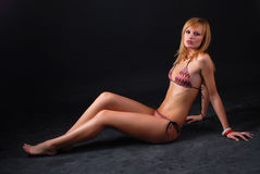 bikini woman Royaltyfri Bild