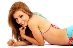 Bikini womanl Stock Image
