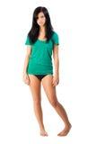 bikini zgłębia koszula t Obrazy Stock