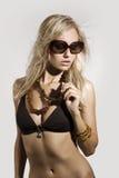 bikiniflicka royaltyfri foto
