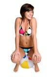 bikiniflicka Royaltyfri Fotografi