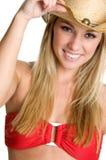 bikiniflicka arkivfoto