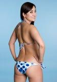 bikiniflicka Arkivbild