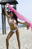 bikiniflicka Fotografering för Bildbyråer