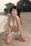 bikiniflickor Royaltyfri Foto