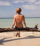 Bikinifrau Lizenzfreie Stockbilder