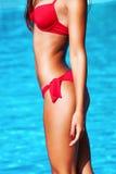Bikinikörper stockfoto