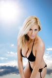 bikinikvinna Royaltyfria Bilder