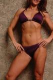 bikinikvinnlig Fotografering för Bildbyråer