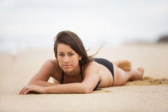 Bikinimädchen Stockfotos