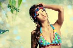 Bikinimanier Stock Afbeelding