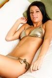 bikinimode royaltyfria bilder