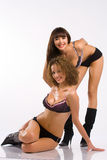 bikinis γυναίκες μποτών Στοκ εικόνες με δικαίωμα ελεύθερης χρήσης