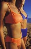 bikinis γυναίκες Στοκ Εικόνες