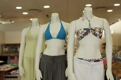 bikinis μανεκέν Στοκ Εικόνες