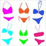 bikinisamling Royaltyfri Fotografi