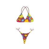 bikinisommar Arkivfoton