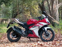 Biks super bike yamaha R15 Royalty Free Stock Photography
