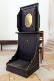 Biktstol i Misericordiaen sen renässansarkitektur för 16th århundrade Royaltyfri Bild