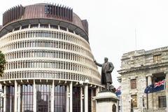 Bikupan, gummistövel, Nya Zeeland royaltyfri bild