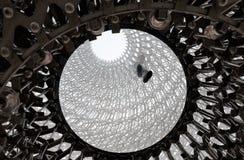 Bikupautställning på världsutläggningen 2015 Royaltyfri Foto