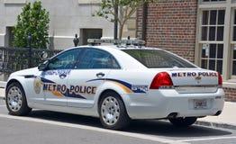 Bil av den storstads- polisen för savannah-Chatham arkivbild