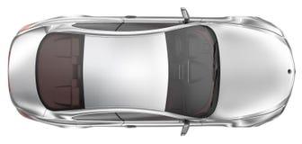 Bil- bästa sikt för elegant sportkupé Royaltyfri Fotografi