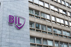 BIL Banque Internationale Royalty-vrije Stock Afbeeldingen