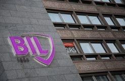 BIL Banque Internationale le Luxembourg Photo libre de droits