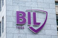 BIL Banque Internationale Royalty Free Stock Image