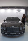 Bil Bentley Flying Spur Royaltyfria Foton