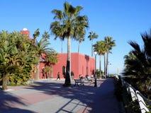 Bil-Bil a castelo-Benalmadena-Malaga-Andaluzia fotografia de stock