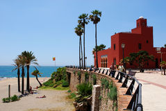 Bil Bil Castle, Benalmadena. Royalty Free Stock Photography