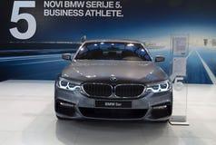 Bil BMW 5er Arkivbild
