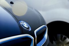 Bil BMW i3 Arkivfoton