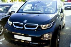 Bil BMW i3 Royaltyfri Fotografi