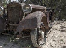 Bil Boneyard Arkivbilder