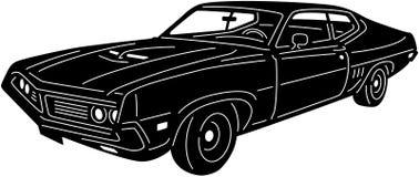 Bil- Detailed-09 vektor illustrationer