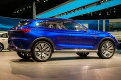 Bil för begrepp för Roewe vision E på Shanghai den auto showen Arkivfoton