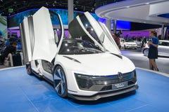 Bil för begrepp för Volkswagen Golf GTE-sport Arkivfoton