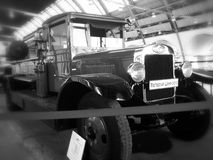 Bil för brand AMO-4 Arkivbild