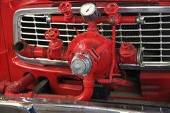 Bil för brandpump Arkivbild