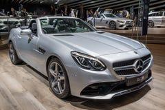 Bil för cabrio för Mercedes Benz SLC 200 Royaltyfri Bild