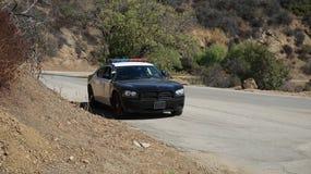 Bil för den Hollywood amerikansk muskelpolisen Royaltyfria Foton