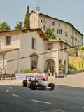 Bil för formel 3 på Bergamo den historiska granda prixen 2017 Royaltyfria Foton