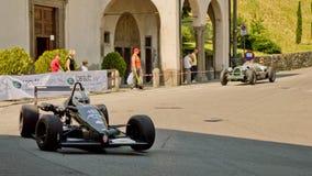 Bil för formel 3 på Bergamo den historiska granda prixen 2017 Royaltyfria Bilder