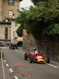 Bil för formel 2 på Bergamo den historiska granda prixen 2015 Royaltyfri Fotografi